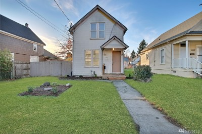 Tacoma Single Family Home For Sale: 5432 S Lawrence St