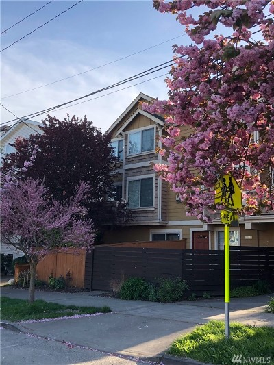 Seattle Single Family Home For Sale: 6013 14th Ave NW #A