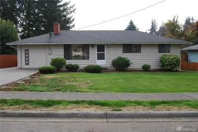 Lynnwood Single Family Home For Sale: 4920 190th St SW