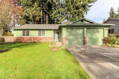 Federal Way Single Family Home For Sale: 3214 SW 327th St