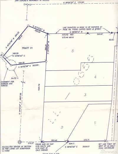 Residential Lots & Land For Sale: 1519 Maple Valley Rd SW