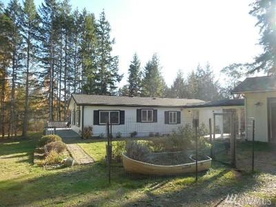 Mason County Single Family Home Pending Inspection: 654 E Mason Lake Rd