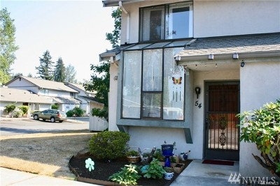 Marysville Condo/Townhouse For Sale: 4805 76th St NE #54