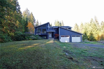 Snohomish Single Family Home For Sale: 23005 Woods Creek Rd