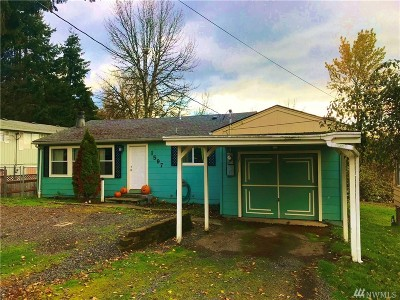 Chehalis Single Family Home For Sale: 1567 SW Thomsen Ave