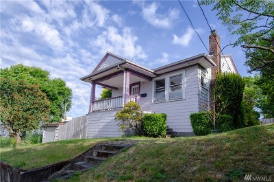 Seattle Single Family Home For Sale: 1223 N 49th St