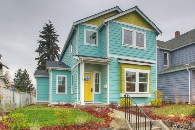 Tacoma Single Family Home For Sale: 2342 S Wilkeson St
