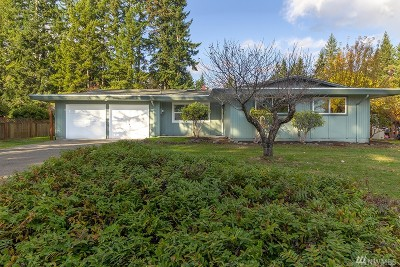Gig Harbor Single Family Home For Sale: 1511 Edgewood Dr NW