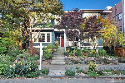 Seattle Single Family Home For Sale: 512 Malden Ave E #B