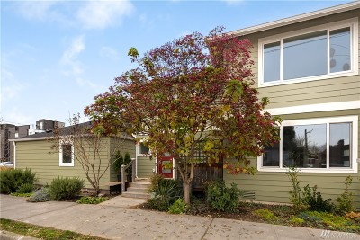 Seattle Condo/Townhouse Sold: 900 S Willow St #A