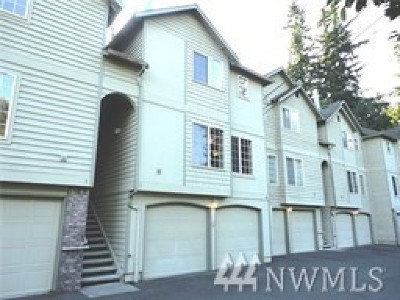 Edmonds Condo/Townhouse For Sale: 23317 Edmonds Wy #4
