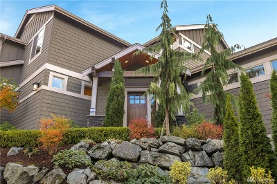Mercer Island Single Family Home For Sale: 9940 SE 38th St
