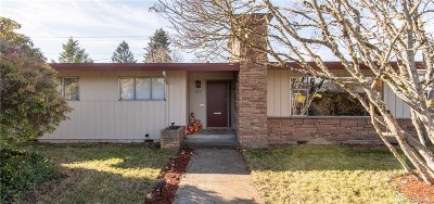 Thurston County Single Family Home Contingent: 627 Decatur St SW