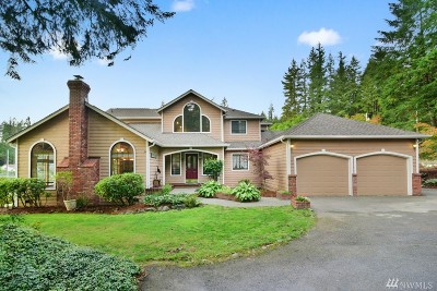 Bremerton Single Family Home For Sale: 7810 NW Wildcat Lake Rd
