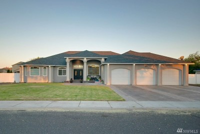 Moses Lake Single Family Home For Sale: 605 S Lupine Dr