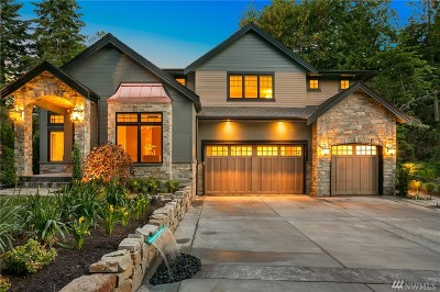 Redmond Single Family Home For Sale: 4577 W Lake Sammamish Pkwy NE