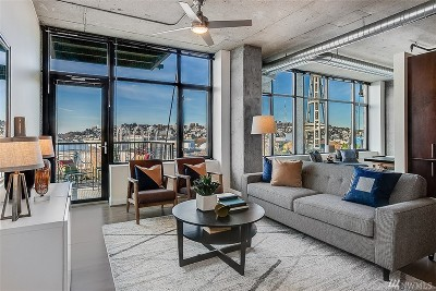Seattle Condo/Townhouse For Sale: 2720 3rd Ave #902