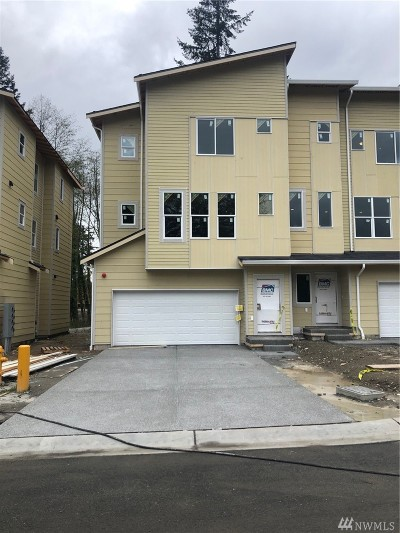 Lynnwood Single Family Home For Sale: 13420 Manor Wy #Lot 9