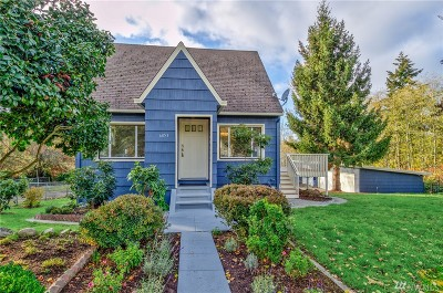 Seattle Single Family Home For Sale: 6053 21st Ave SW