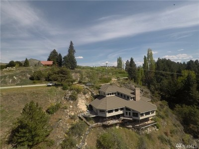 Chelan County, Douglas County Single Family Home For Sale: 895 Green Landing Rd