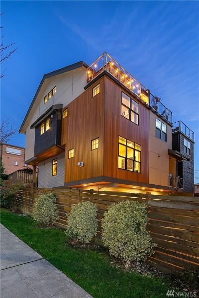 Seattle Single Family Home For Sale: 71 E Boston St