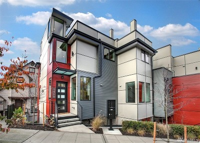 Seattle Single Family Home For Sale: 5419 Baker Ave NW