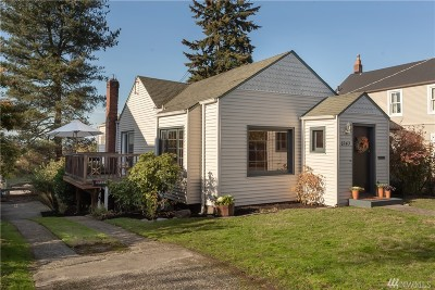 Seattle Single Family Home For Sale: 6243 Sycamore Ave NW