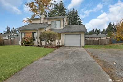 Olympia Single Family Home For Sale: 9205 Quinault Dr NE