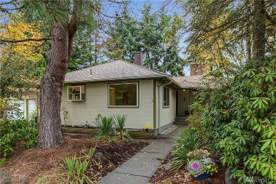 Seattle Single Family Home For Sale: 7818 S 114th St