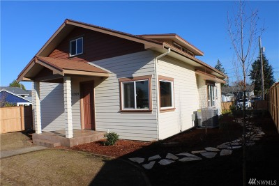 Tacoma Single Family Home For Sale: 3709 N Orchard St