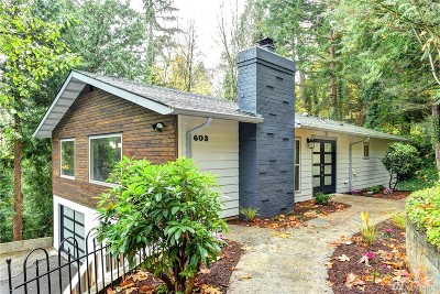 Shoreline Single Family Home For Sale: 603 NW 178th Ct