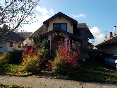 Tacoma Single Family Home For Sale: 3848 S G St