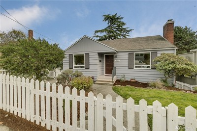 Seattle Single Family Home For Sale: 3016 23rd Ave W
