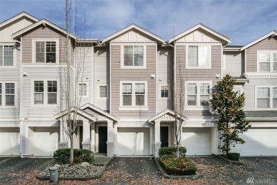 King County Condo/Townhouse For Sale: 6214 S 233rd St