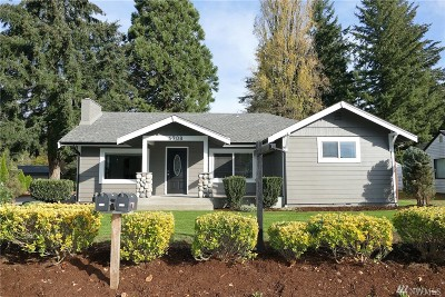 Tumwater Single Family Home For Sale: 4708 Cleveland Ave SE