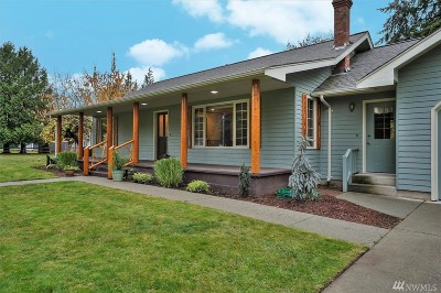 Whatcom County Single Family Home Pending Inspection: 752 E Wiser Lake Rd