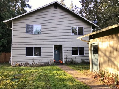 Shelton WA Single Family Home For Sale: $299,000