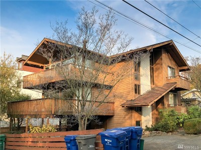 Seattle Multi Family Home For Sale: 3839 Carr Place N