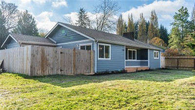 Olympia Single Family Home For Sale: 2019 Walnut Rd NW