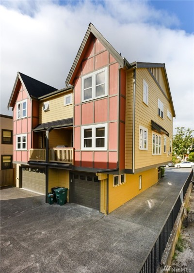 Seattle Single Family Home For Sale: 4322 Francis Ave N #B
