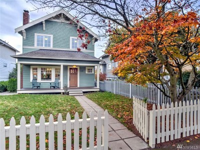 Seattle Single Family Home For Sale: 2419 9th Ave W