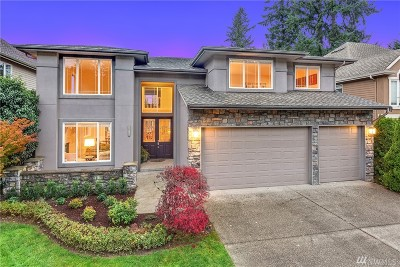 Sammamish Single Family Home For Sale: 2813 194th Place SE
