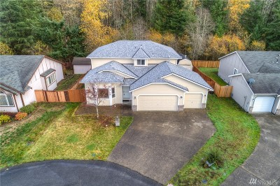 Spanaway Single Family Home For Sale: 8803 198th Street E