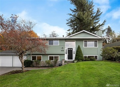 Mercer Island Single Family Home For Sale: 3720 79th Ave SE