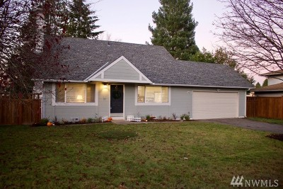 Everett Single Family Home For Sale: 6007 138th St SE