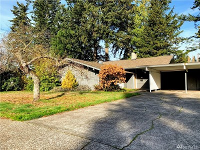 Olympia Single Family Home For Sale: 1830 Eastwood Dr SE