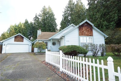 Bothell Single Family Home For Sale: 3225 164th Place SE