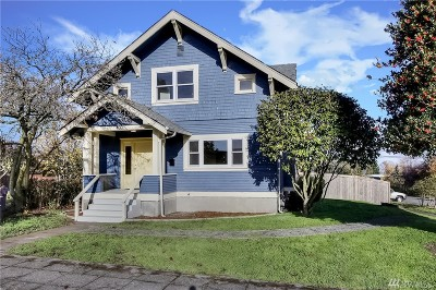 Tacoma Single Family Home For Sale: 403 S 34th St