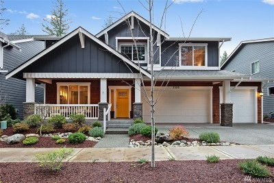 North Bend WA Single Family Home For Sale: $885,000