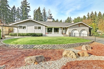 Renton Single Family Home For Sale: 16138 SE 145th Place
